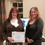 Deb Myerson Accepting NJCP Certificate